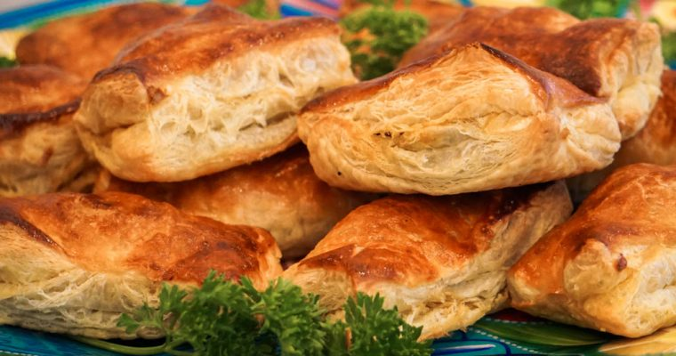 Easy Haitian Beef Patties with Puff Pastry